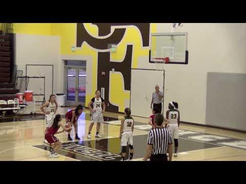 Pinewood Girls basketball vs Lowell, at St Francis tournament, Dec 28, 2017