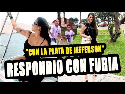 MELLISSA KLUG RESPONDE  QUE NO SE GASTA EL DINERO DE JEFFERSON FARFAN