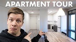 Student apartment tour – a furnished student flat in Finland | Study in Finland