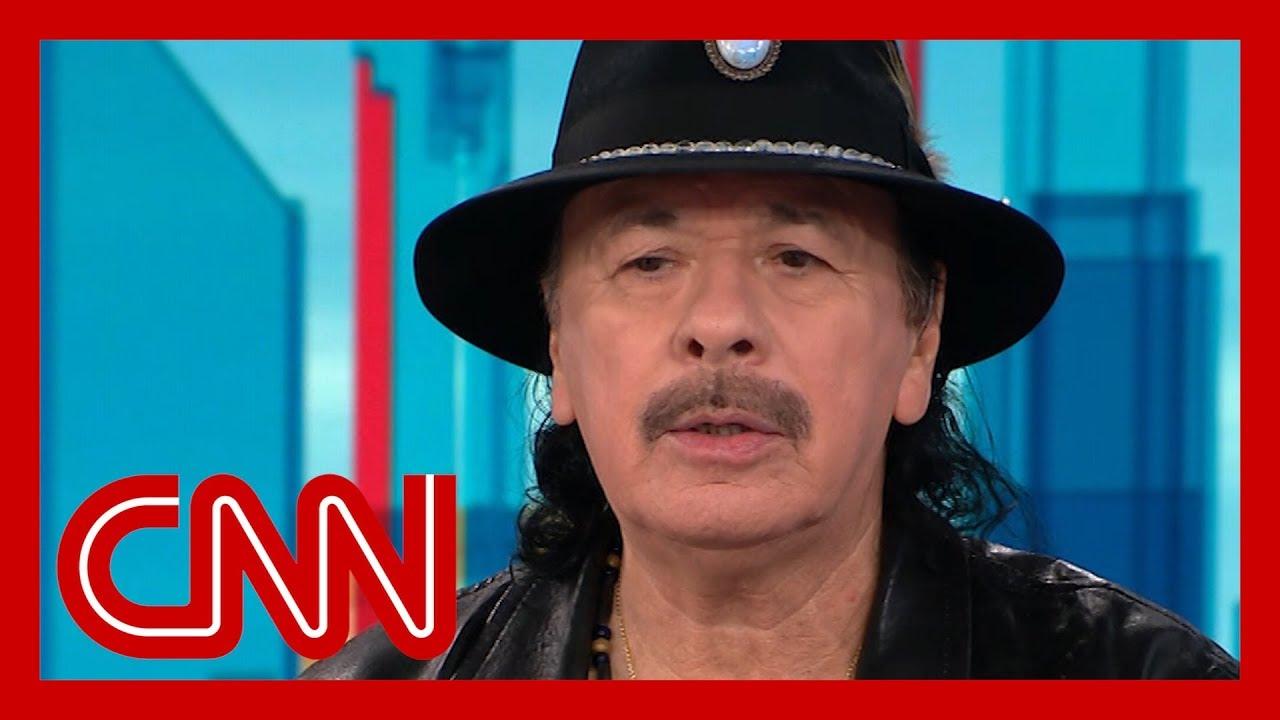 CNN:Carlos Santana reflects on his Woodstock performance 50 years later