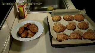 Сметанно медовое овсянное печенье Овсяное печенье рецепт