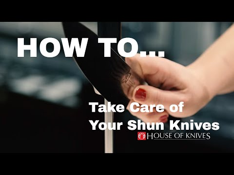 Knife Care with Stephanie Purtle of Shun Cutlery USA