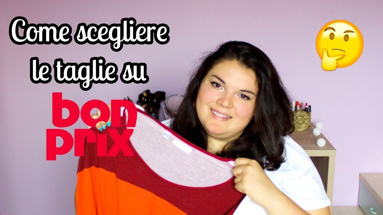 informazioni per ce033 6bf61 COME SCEGLIERE LA TAGLIA GIUSTA SU BONPRIX - Speak up Lise