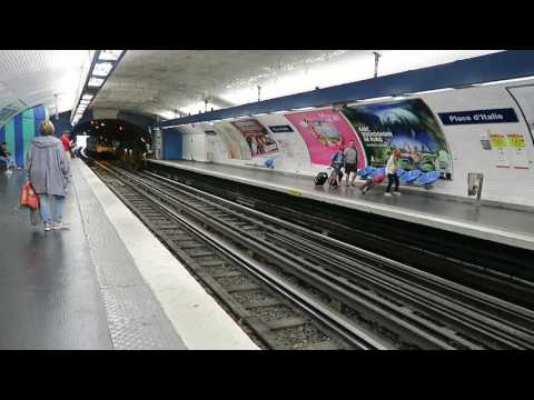 Paris Metro Extravaganza: All 16 Lines- again! 8 August 2017