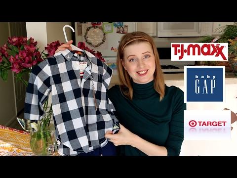 Покупки детской одежды в США! GAP, TARGET, TJMAXX, CARTERS