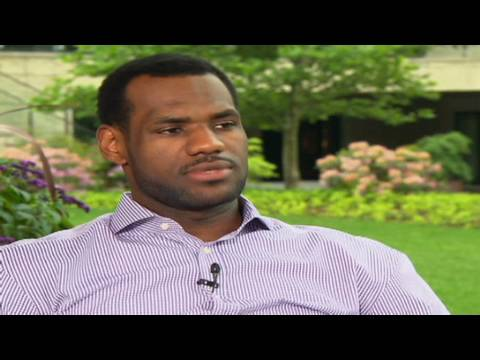 CNN: Lebron James talks about Cleveland and the NBA - YouTube