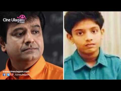 Actor Vivek turns emotional Talking about his Son
