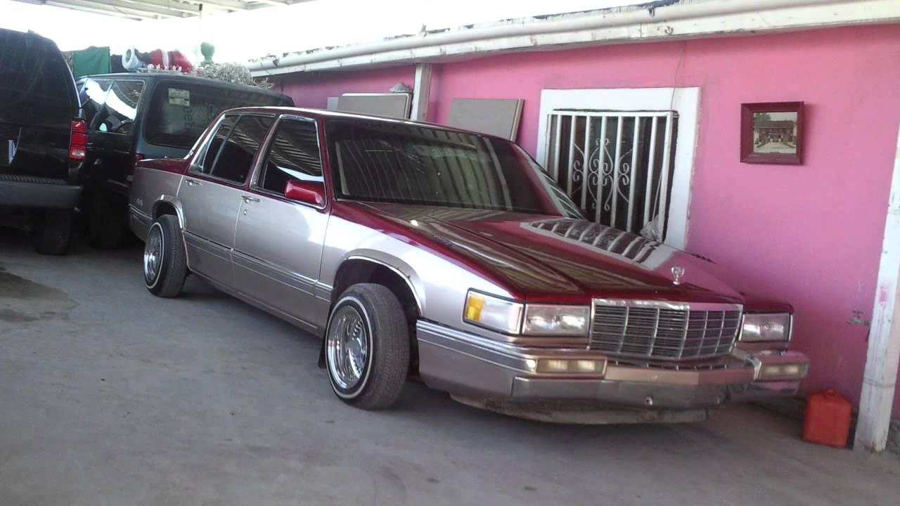 1993 Cadillac Deville Lowrider In Ciudad Juarez Youtube