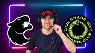 FURIA vs CHAOS / Прогнозы на Спорт / CSGO