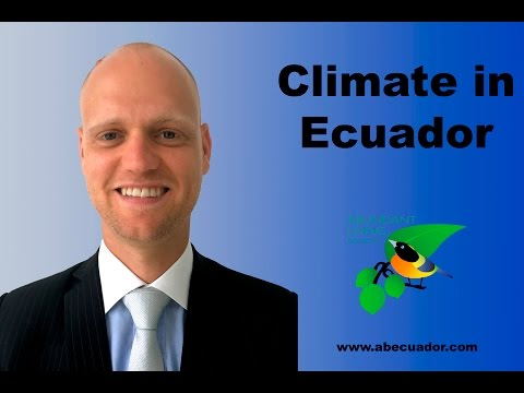 Climate in Ecuador