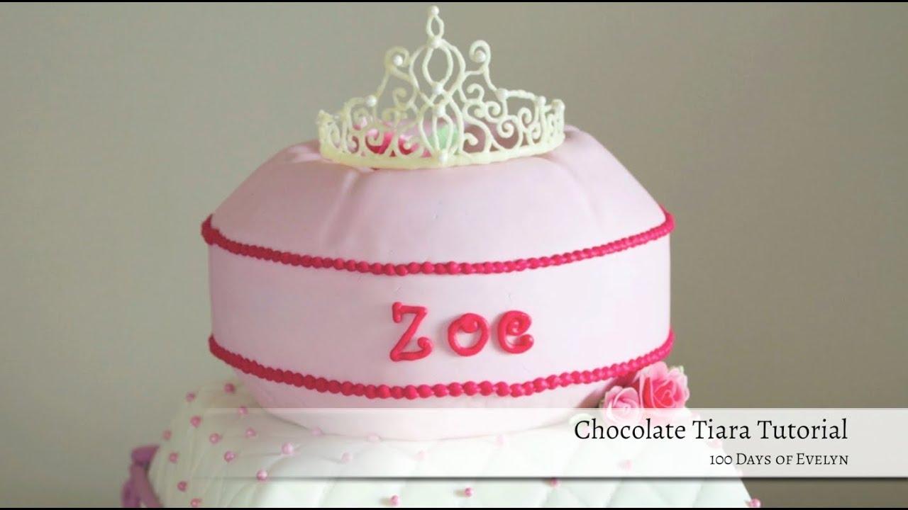 Cake Topper Princess Tiara