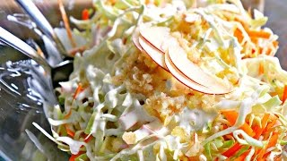 Gambar cover THE BEST COLESLAW RECIPE - Barbecue Side Dish