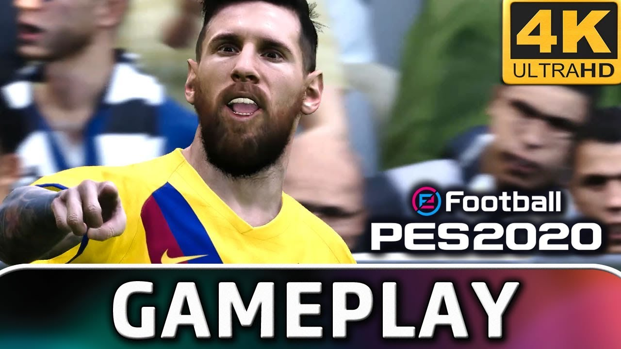 eFootball PES 2020 | Gameplay 4K & 60 FPS on PC