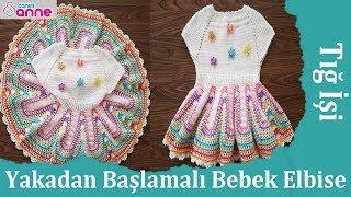 Amigurumi Bebek Elbise Örülüşü | Bebek elbisesi, Bebekler için ... | 180x320