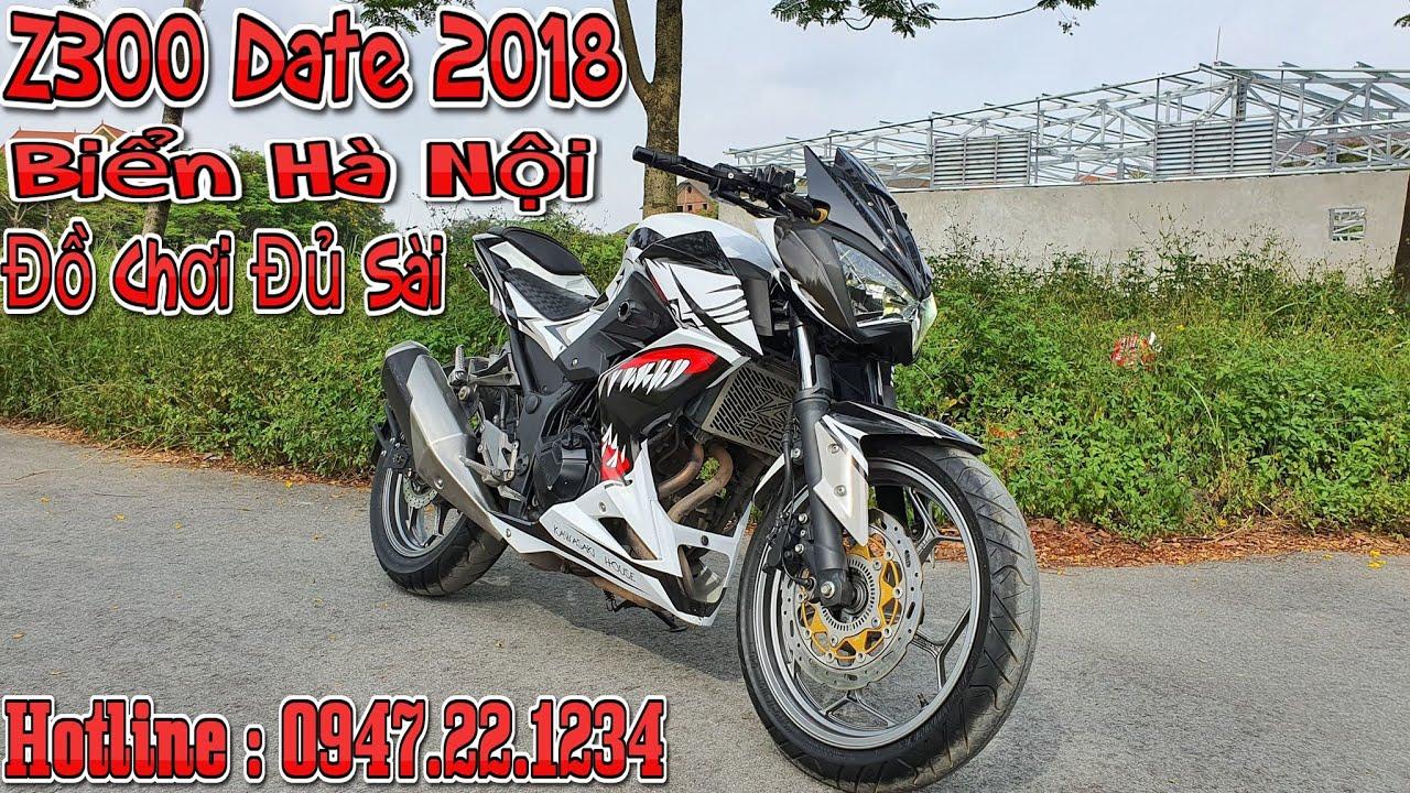 BÁN XE Z300 Date 2018 Biển Hà Nội , Đồ Chơi Tương Đối   Tài Pô Độ 0947.22.1234