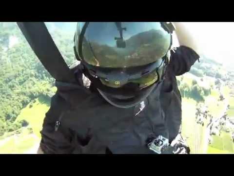 Crazy Wingsuit Flying!