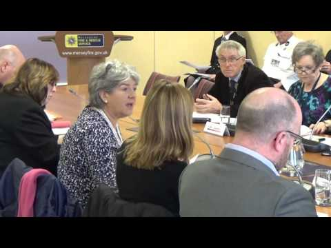 Merseyside Fire and Rescue Authority Police and Fire Collaboration Committee 15th March 2016 Part 1