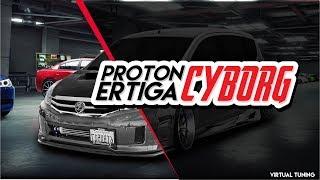 Proton Ertiga Cyborg | Virtual Tuning