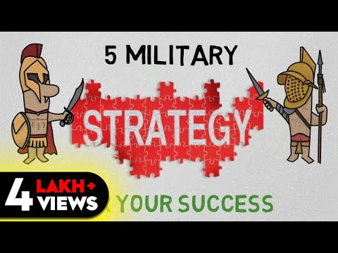 5 STRATEGIES FOR SUCCESS (HINDI) - ART OF WAR SUMMARY