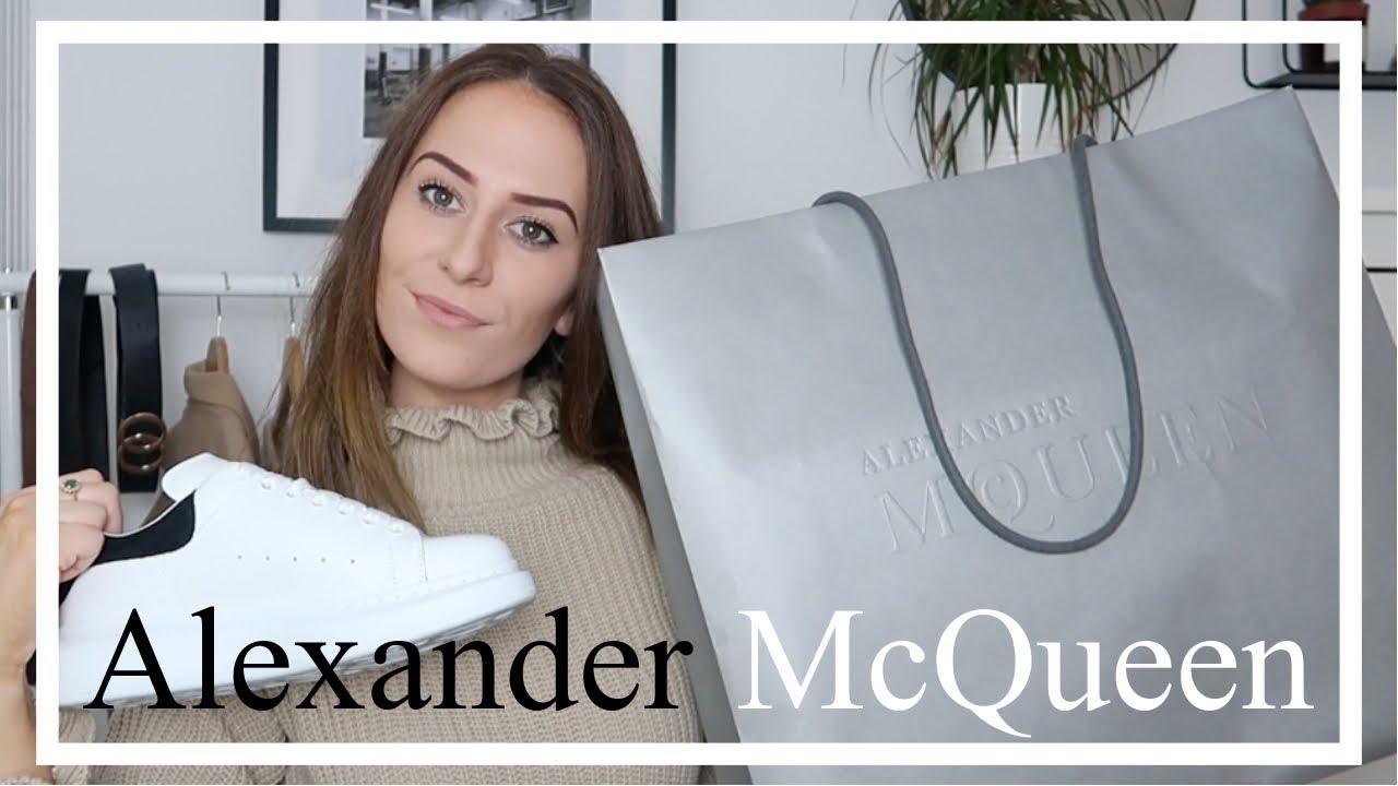 a35c32dd59f Buying My First Designer Shoes! | Alexander McQueen