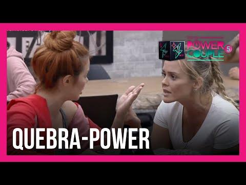 Mirela Janis e Nina discutem por causa da Prova das Mulheres | Power Couple Brasil 5
