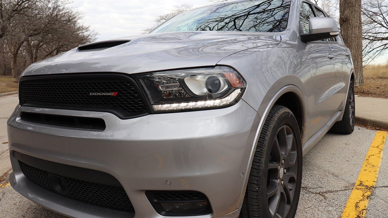 2018 Dodge Durango R T How To Make A Boring Suv Sing