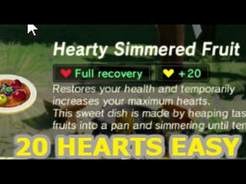 Zelda botw cooking for 20 yellow hearts youtube zelda botw cooking for 20 yellow hearts forumfinder Choice Image