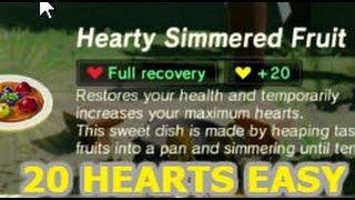 Zelda BOTW - Cooking For 20 Yellow Hearts