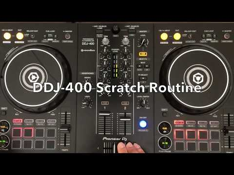 Pioneer DDJ-400 Scratch Test