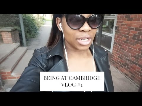 BEING AT CAMBRIDGE VLOG #1: MY BUTT'S GETTING BIGGER!