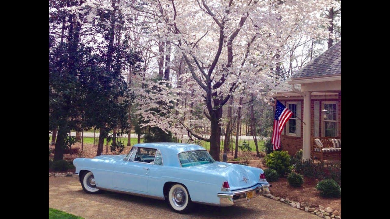 1956 Blue Lincoln Continental Mk II, Frame off Restoration, for sale ...