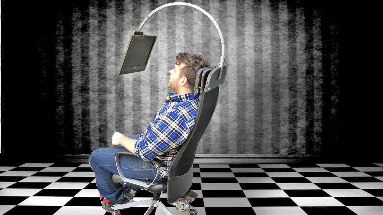Sedia da gaming di rulof fai da te sedia tech la sfida for Sedia da gaming