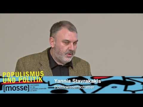 Yannis Stavrakakis: »The populist scandal. post-democratic challenges«