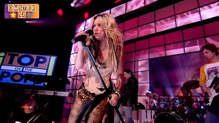 Shakira - Whenever, Wherever (Remastered) Live TOTPs 2003 HD