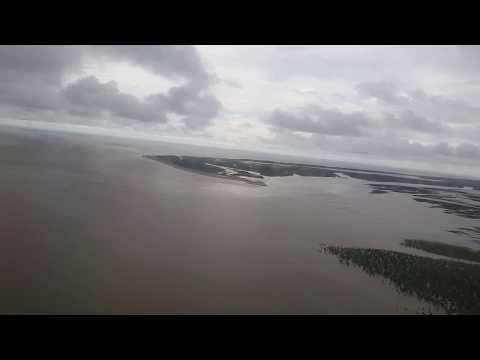 Landing at Cox's Bazar Airport | Lovely Cloud & Rain