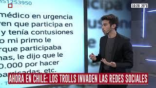 Ahora en Chile: Los trolls invaden las redes sociales