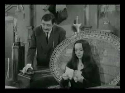 Addams Family In The Chair Youtube