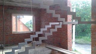 лестница на третий этаж , на металлических косоурах.(лестница на третий этаж , на металлических косоурах., 2015-12-07T00:36:52.000Z)