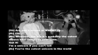 HAPPY  HIPPIE PRESENTS  DON'T DREAM IT'S (PERFORMED BY MILEY CYRUS & ARIANA GRANDE)