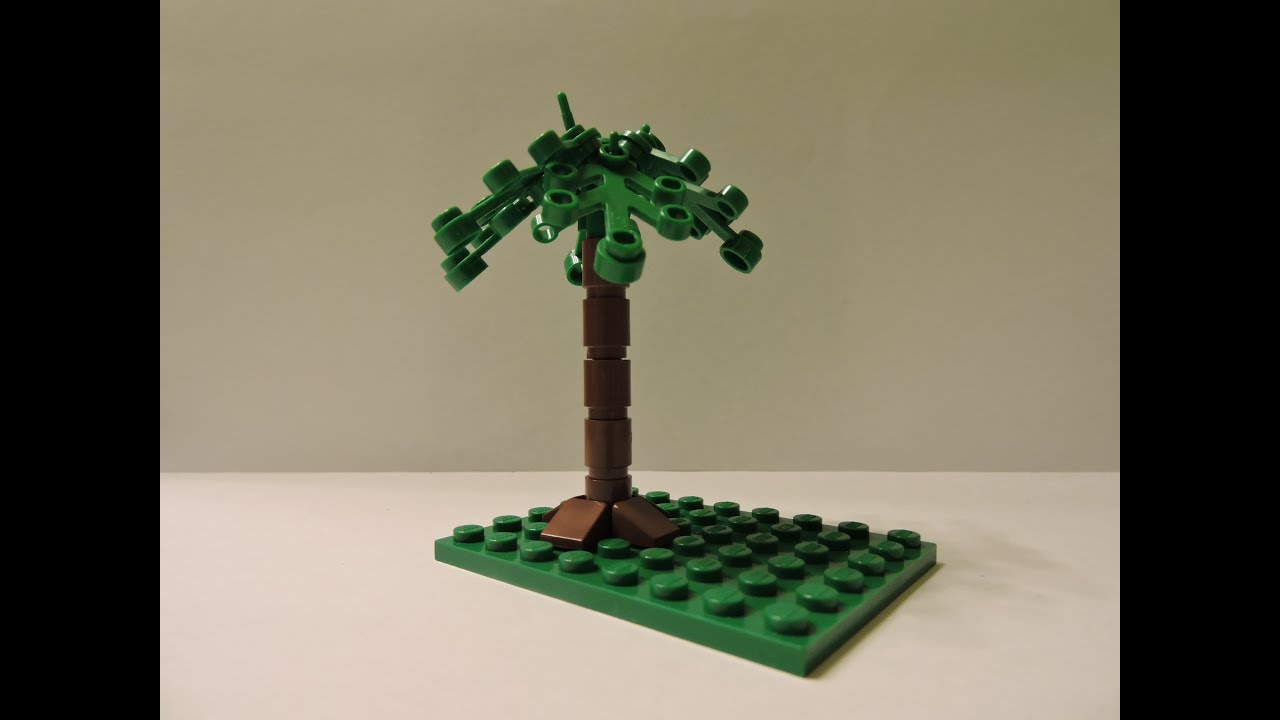 How To Make A Simple Lego Tree Youtube