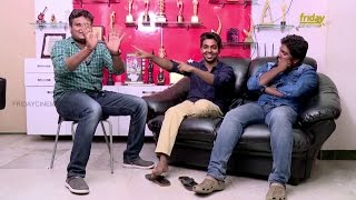 BruceLee team gv prakash -‬ ‪bala saravanan & Director prasanth  's Fun filled galatta Interview