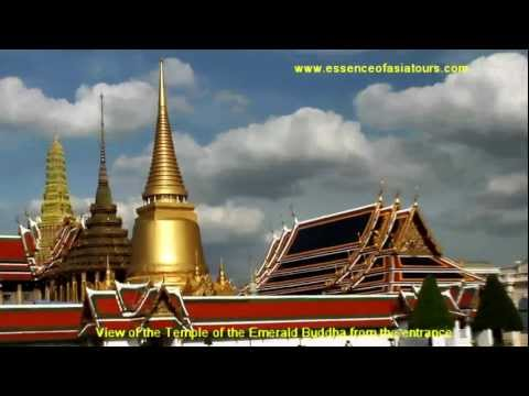 The Royal Grand Palace and the temple of the Emerald Buddha image, Bangkok, Thailand