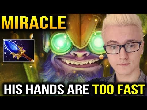 Miracle [Tinker] Dota 2 - HIS HANDS MOVING SO FAST