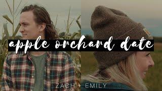 A FALL DATE | Apple Orchard + Pumpkin Patch