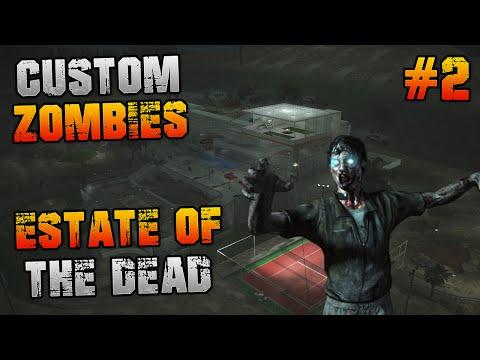 "Custom Zombies - ""ESTATE OF THE DEAD"" Pt2 ""ELEVATOR TO HEAVEN"" (COD WAW Custom Zombies)"