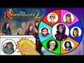 Disney DESCENDANTS 2 Dolls & Toys Spinning Wheel Game | Surprise Toys Kids Games