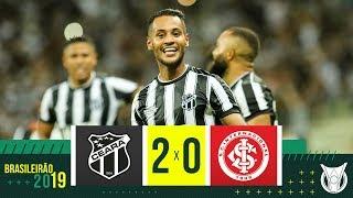 CEARÁ 2 X 0 INTERNACIONAL - Melhores Momentos - Brasileirão 2019 (07/11)