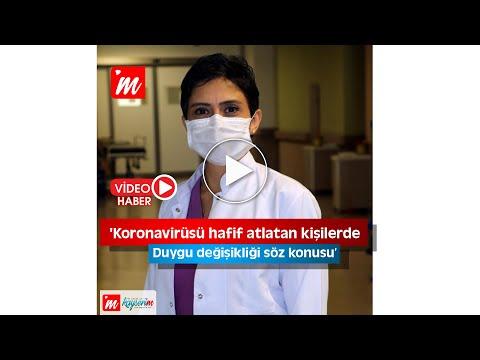 'Koronavirüsü hafif atlatan kişilerde duygu değişikliği söz konusu'