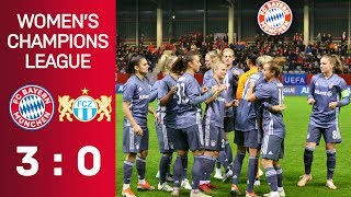 FC Bayern vs. FC Zürich 3-0 | UEFA Women's Champions League 2018/19 - Round of 16 | ReLive