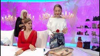 "Bravo, ai stil! (23.10.2017) - Sabina, provocata de jurati sa curete un peste! ""Mi se face rau!"" Video"